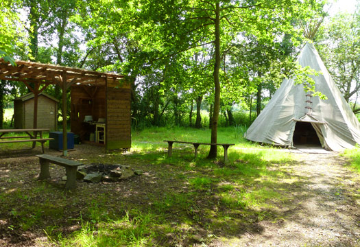 weekend insolite en tipi en normandie